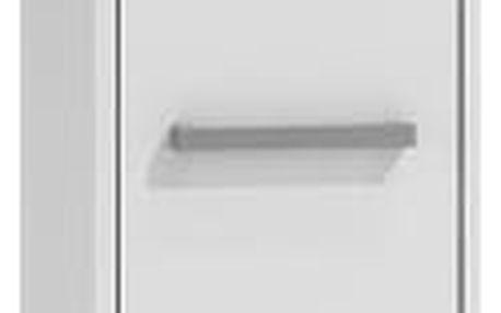 Koupelnová skříňka s regálem 43 cm bílá