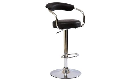 Stolička barová C-231 černá