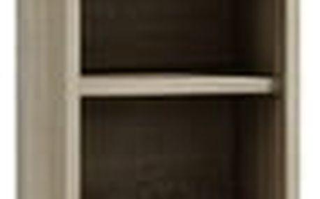 Koupelnová skříňka s regálem 30 cm dub sonoma