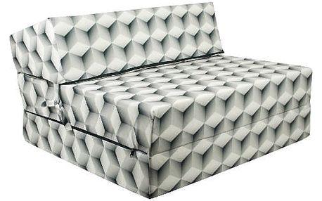 Kvalitní křeslo nebo matrace 90x200x15 cm více barevných motivů