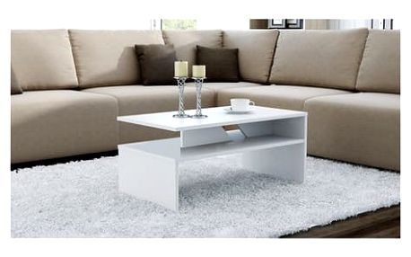 Konferenční stolek COLORADO bílá