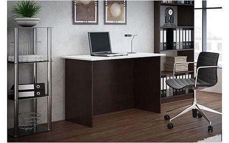 Psací stůl Standard wenge/bílá