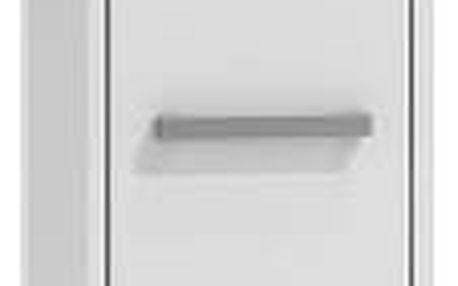 Koupelnová skříňka s regálem 33 cm bílá