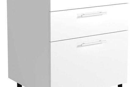 Spodní skříňka VENTO D3S-60/82 bílá Halmar