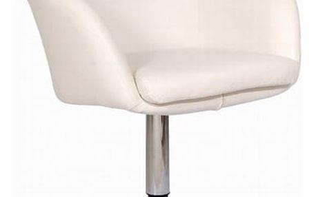 Židle barová A-322 krémová
