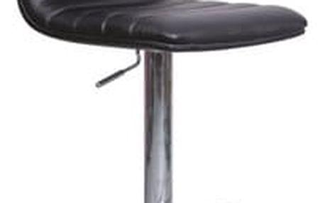 Stolička barová KROKUS C-331 černá