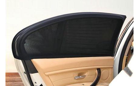 Flexibilní sluneční clona do auta 2 ks