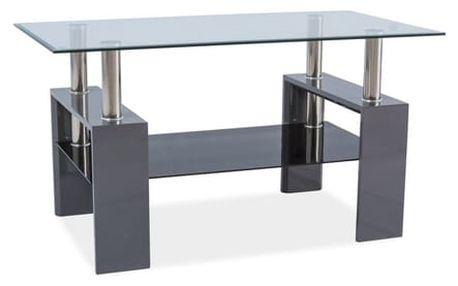 Stůl konferenční LISA III - šedá