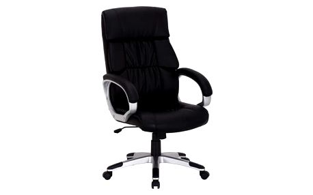Židle kancelářská Q-075 černá