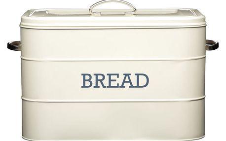 Krémová plechová dóza na chléb Kitchen Craft Nostalgia