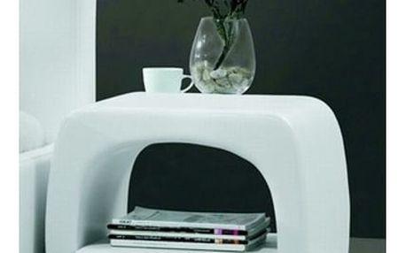 Noční stolek Tokyo bílá