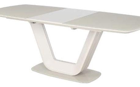 Stůl ARMANI krémový 160(220)x90 cm