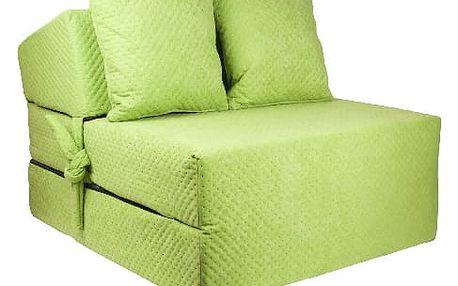 Kvalitní prošívané křeslo nebo matrace 70x200x15 cm - více barevných variant
