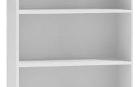 Regál 80 cm bílý