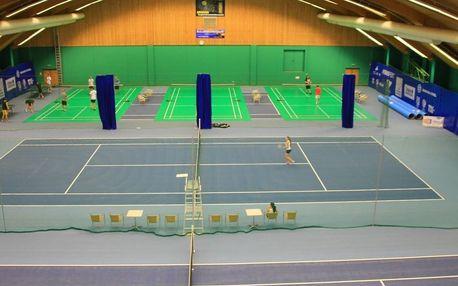 Hodina tenisu, squashe nebo badmintonu pro dva v hotelu Tennis Club Prostějov