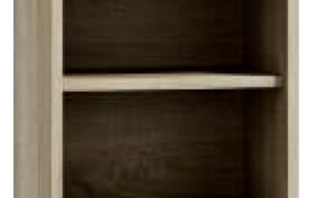 Koupelnová skříňka s regálem 40 cm dub sonoma