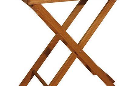 Zahradní odkládací stolek z eukalyptového dřeva ADDU Dallas