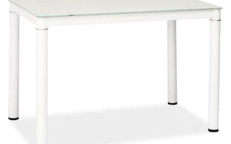 Jídelní stůl Galant 100x60 cm bílý