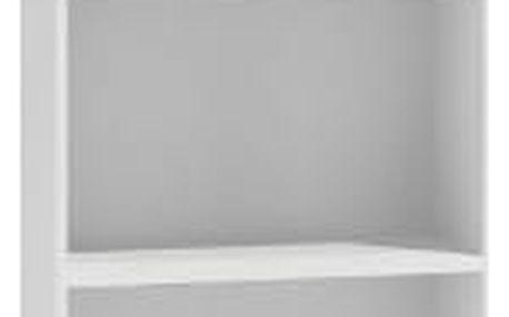 Regál 40 cm bílý