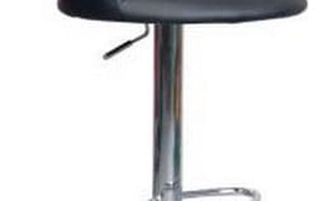 Stolička barová KROKUS C-328 černá