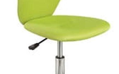 Židle kancelářská Q-037 zelená