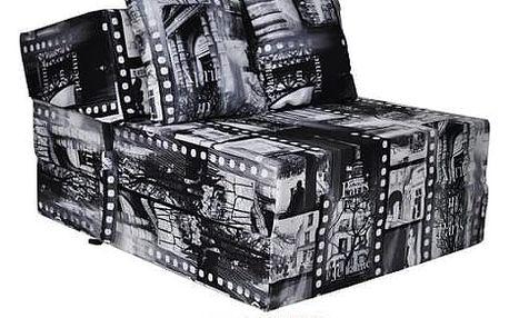 Kvalitní křeslo nebo matrace 70x200x15 cm více barevných motivů