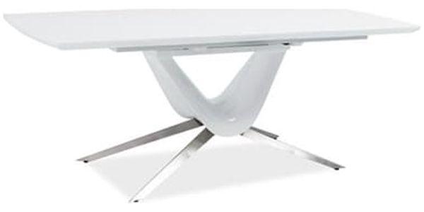 Stůl SAVINO bílý 160(200)x90 cm2