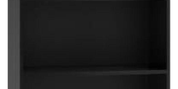 Regál 60 cm černý