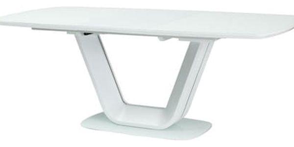 Stůl ARMANI bílý 160(220)x90 cm2