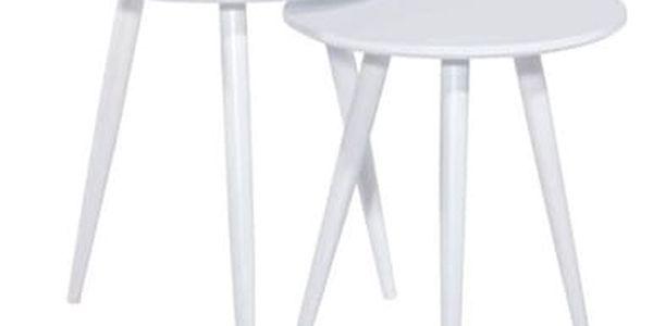 Set konferenčních stolků CLEO bílý2