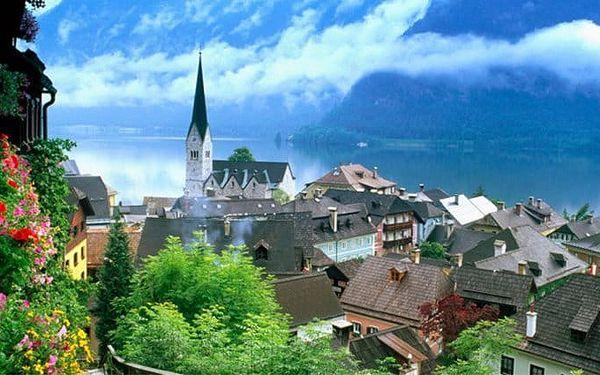 Celodenní zájezd pro 1 k jezerům Solné komory v Rakousku