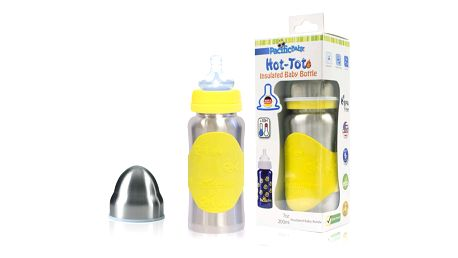 PACIFIC BABY Hot-Tot Termoska 200 ml žlutá/stříbrná
