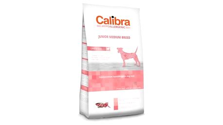 Calibra Dog Hypoallergenic Junior Medium Breed Lamb 14kg