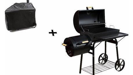 Garthen 43776 BBQ gril na dřevěné uhlí, extra velký, 32 kg + obal