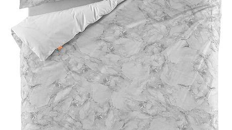 Bavlněný povlak na peřinu Blanc Essence Marble, 140x200cm