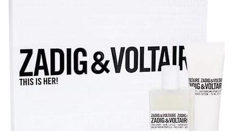 Zadig & Voltaire This is Her! EDP dárková sada W - EDP 50 ml + tělové mléko 75 ml