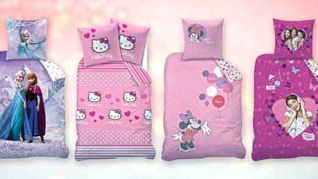 Povlečení Hello Kitty a další dětské motivy