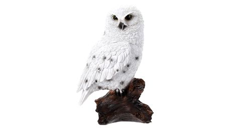 Dekorace na zahradu, odstrašovač ptáků - Výr sněžný Home Styling Collection