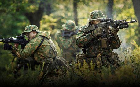Otevřené airsoftové bitvy s profi výzbrojí