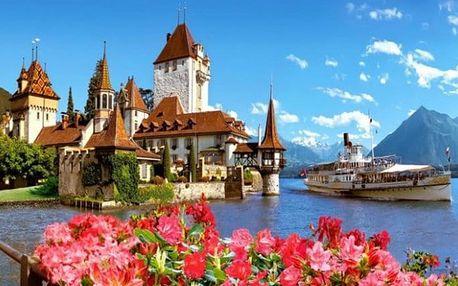3denní zájezd pro 1 do Thunu a hradu Oberhofen ve Švýcarsku