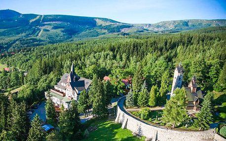 Polsko: Krkonoše s wellness a polopenzí