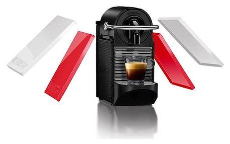 Espresso DeLonghi Nespresso Pixie Clips EN126 bílé/červené