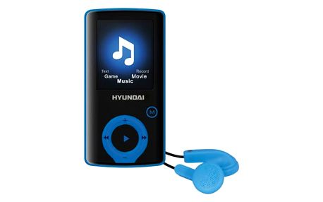 MP3 přehrávač Hyundai MPC 883 GB16 FM B černý/modrý