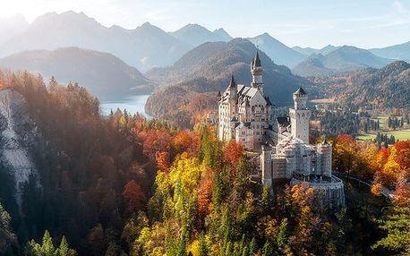 Celodenní zájezd pro 1 k Neuschwansteinu, Herrenchiemsee a do Mnichova v Německu