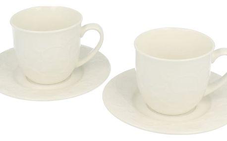 Sada 2 šálků s podšálky Duo Gift Hemingway, 250 ml