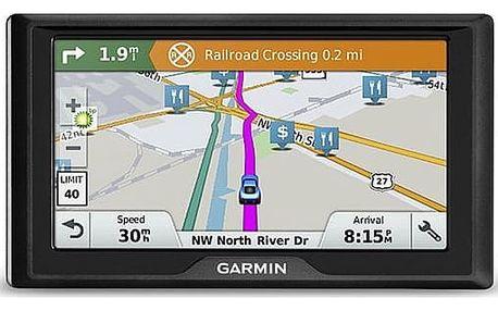 Navigační systém GPS Garmin Drive 61S Lifetime Europe45 černá (010-01679-17)
