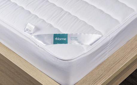 4Home Prošívaný chránič matrace s lemem Royal, 90 x 200 cm, 90 x 200 cm