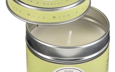 Aroma svíčka v plechovce s vůní květů Copenhagen Candles White Flowers, doba hoření 32 hodin