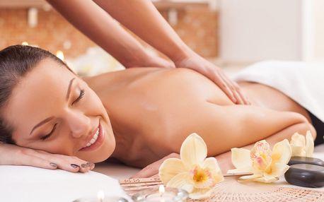 Těhotenská nebo aroma masáž celého těla pro dámy