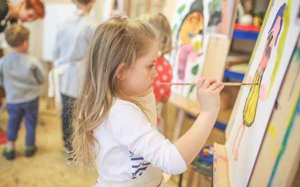 Zábavné a kreativní výtvarné kurzy pro děti i dospělé